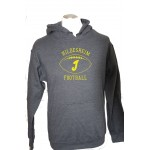 Hoodie Invaders Football Yellow