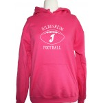 Hoodie Invaders Football White