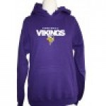 Hoodie Vikings Football Weiss