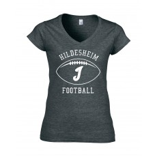 Ladies Shirt Invaders Football White