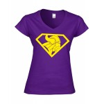 Ladies-Shirt Superviking Gelb