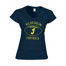 Ladies Shirt Invaders Football Yellow
