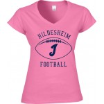 Ladies Shirt Invaders Football Navy